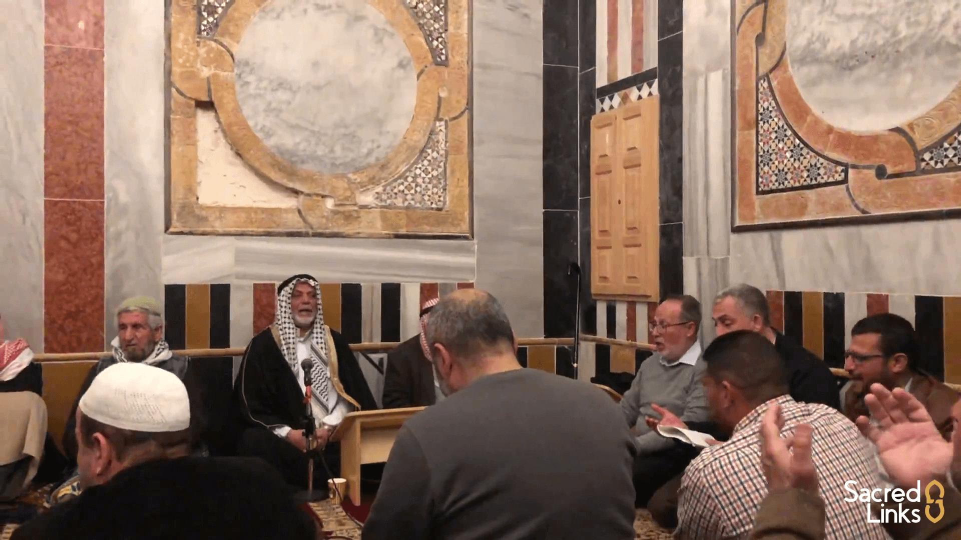 Burdah Recitation and Mawlid at Masjid al-Aqsa with Sacred Links